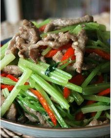 牛肉末炒芹菜的营养价值 牛肉末炒芹菜的做法