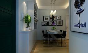 这样客厅餐厅空间分明,客厅宽敞明亮,日常生活,比如晒衣服出入也...