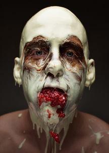 食材面具 打造暗黑风格食物摄影
