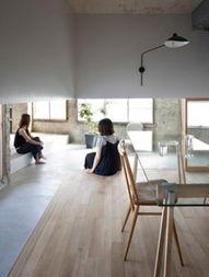 日本室内设计师MAKOTO的新作,是为家住在名古屋的阿家设计的房...