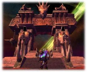 黑门之崛起-黑暗之门   也许艾泽拉斯和外域的历史上曾存在过无数扇传送门,但是...