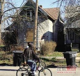 ...律许多房子已经人去楼空,破败不堪. -美国底特律房价低至1美元国...