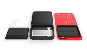 ...这款概念手机的电池是前置的?-奇思妙想创意无限 概念手机大盘点