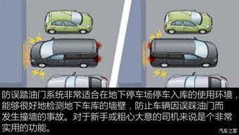 主动制动使车辆停止,并伴随有声音和视觉的报警提醒.车辆刹停后会...