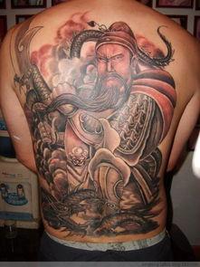 易经堂 关公纹身的含义是什么 纹身能纹关公吗 10种纹身解密