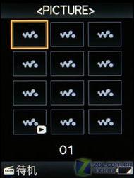 ...示标题 仅显示缩略图-平民价MP4 索尼影音全能S616F实用评测