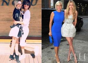 出现在The Real Housewives系列电视剧中,同时出现的还有她们的模...