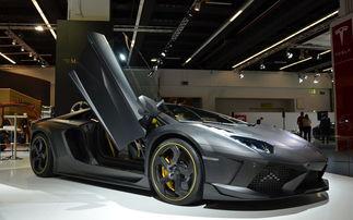...福车展,改装厂Mansory推出一款基于兰博基尼Aventador Roadster...