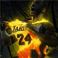 NBA球星科比霸气高清qq头像