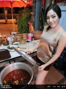 小吃店最美老板娘 模特身材火辣厨艺成最新网红
