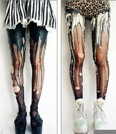 ...尸裤袜完爆腿毛丝袜 防狼术外的另一选择