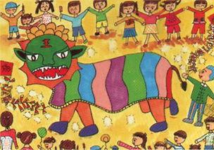 春节的画画怎么画