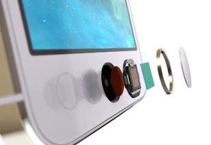 iPhone手机的Touch ID指纹传感器-苹果获得超声波力传感器 助力...