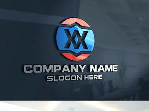 X字母标志XX字母标志X字母LOGO设计图片素材 高清cdr模板下载 2....