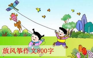关于放风筝作文800字 第20篇