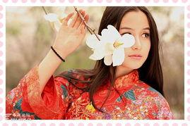 ...丰庆公园拍古装现代美女