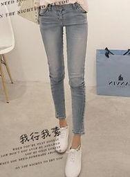 女装牛仔裤尺寸表