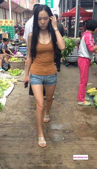 ...好身材的美女在买菜 1