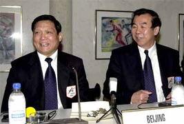 北京申奥 代表团在洛桑举行新闻发布会