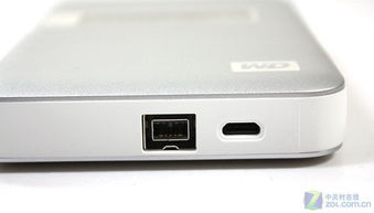 电子墨水屏幕 WD苹果版移动硬盘到货