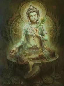 如金鬘之密法 汉传多罗菩萨 绿度母 三咒念诵成就法