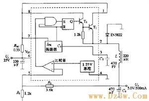 MC34063降压电路及工作原理