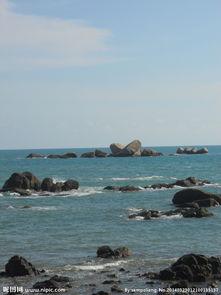 海边 石头图片