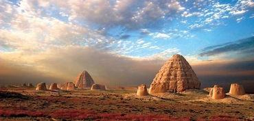 西夏国帝王墓实拍 被称东方金字塔