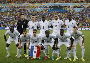 世界杯 足球――小组赛E组 法国队首发阵容 图
