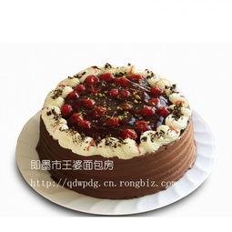 即墨生日蛋糕 黑森林蛋糕 相伴相随