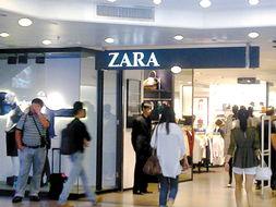刚开业的几家新百货商场销售的品牌几乎都是以前在广州从未见过的新...