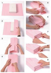 送人有面子,图解礼物包装方法大全 附带蝴蝶结系法