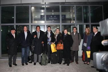 美国 谷歌访问团 抵达朝鲜平壤