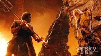 狂狼怒舞-《诸神之怒》绝对是场视觉盛宴:火爆的动作,波澜壮阔的场面,震撼...